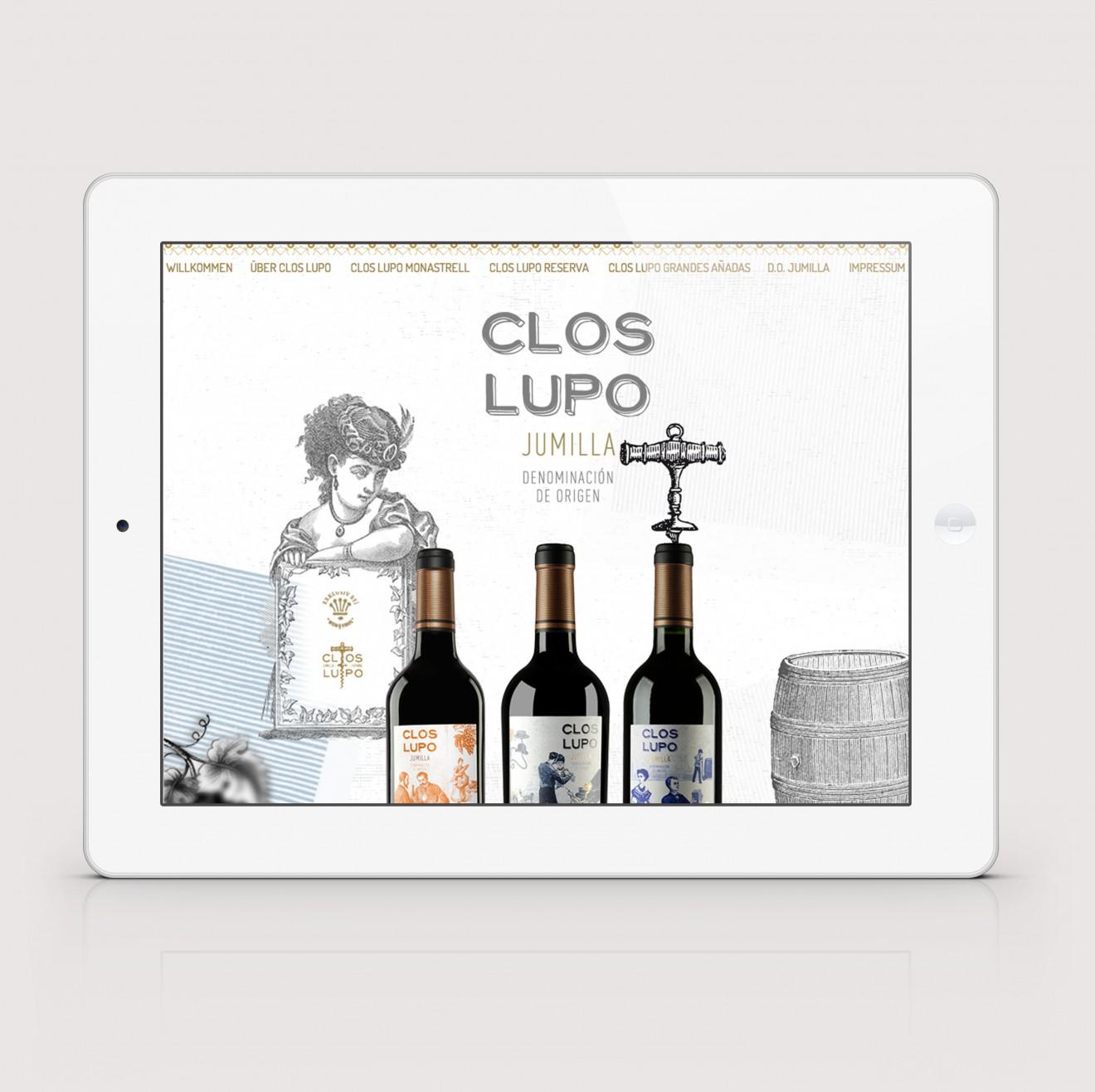 Clos-Lupo-Website